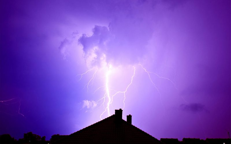 How to Stop Destruction Caused by Lightning ?